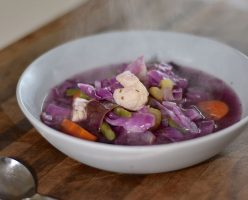 Nourishing Red Cabbage Soup