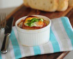 Simple Bacon, Egg & Asparagus Cups