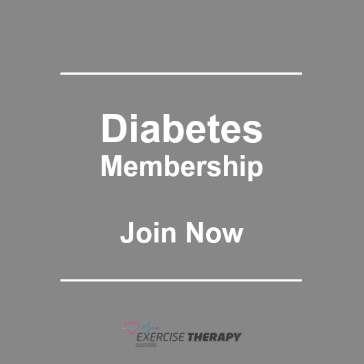 Diabetes exercise program