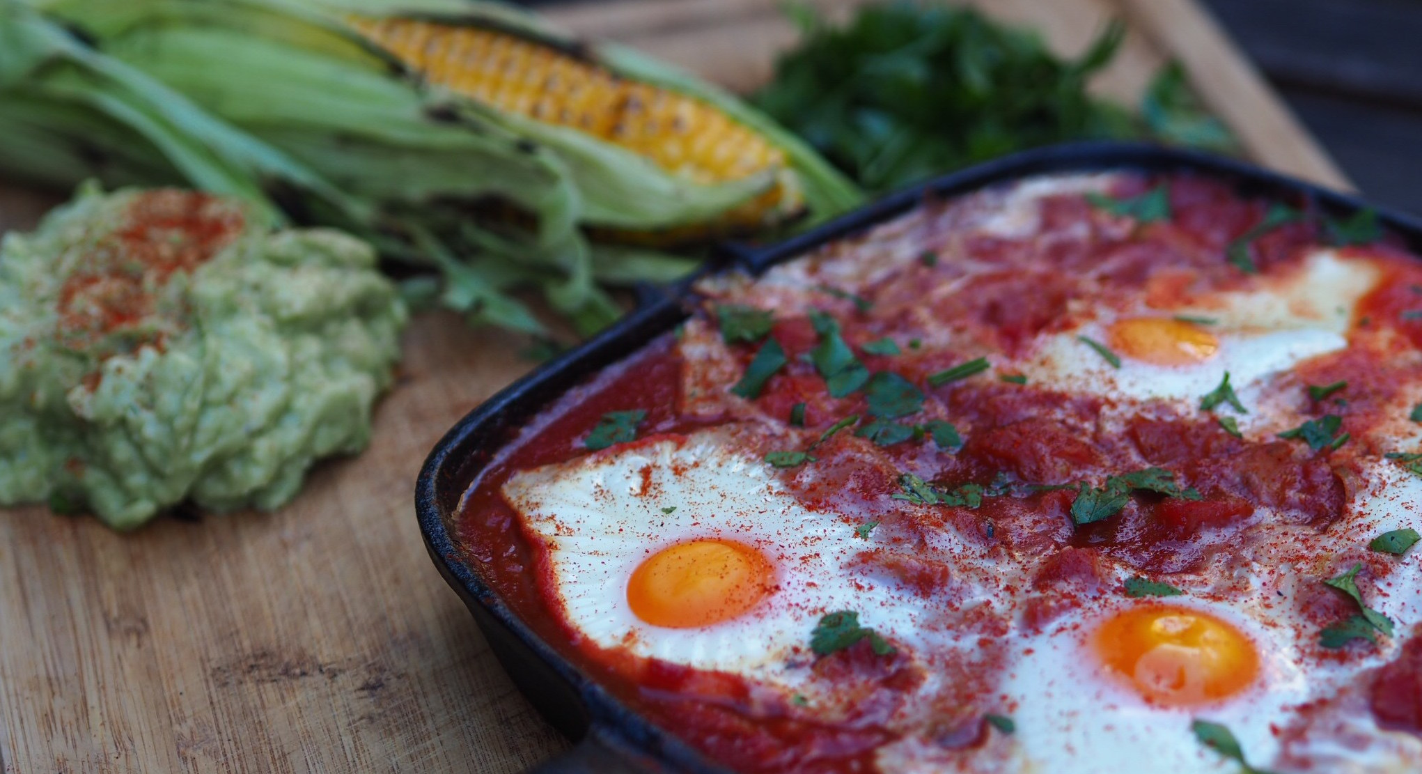 Mexican Baked Eggs With Smashed Avocado - Exercise Therapy ...