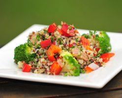 Quinoa Tuna & Broccoli Salad