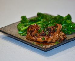 Easy Peasy Gluten Free, Dairy Free Honey Garlic Chicken