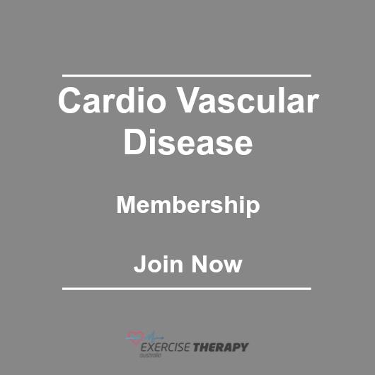 cardio-vascular-disease personalised exercise program exercise programs
