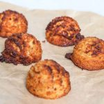 Fiery Coconut Ginger Macaroons