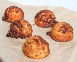 Firey Coconut Ginger Macaroons