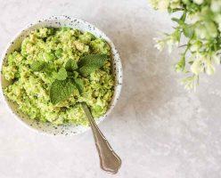 Tofu & Green Pea Paste