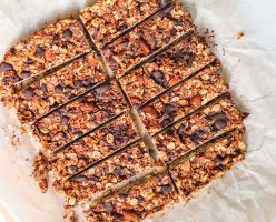 Peanut Butter Granola Bars Recipe
