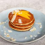 Simple Easy Mango Coconut Pancake Recipe
