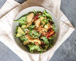 Sundried Tomato Tahini Salad